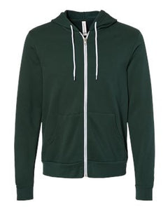 Fleece Full-Zip Hooded Sweatshirt
