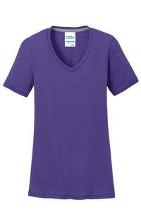 Ladies Performance V-Neck Tee