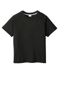 Youth Wicking Raglan Tee
