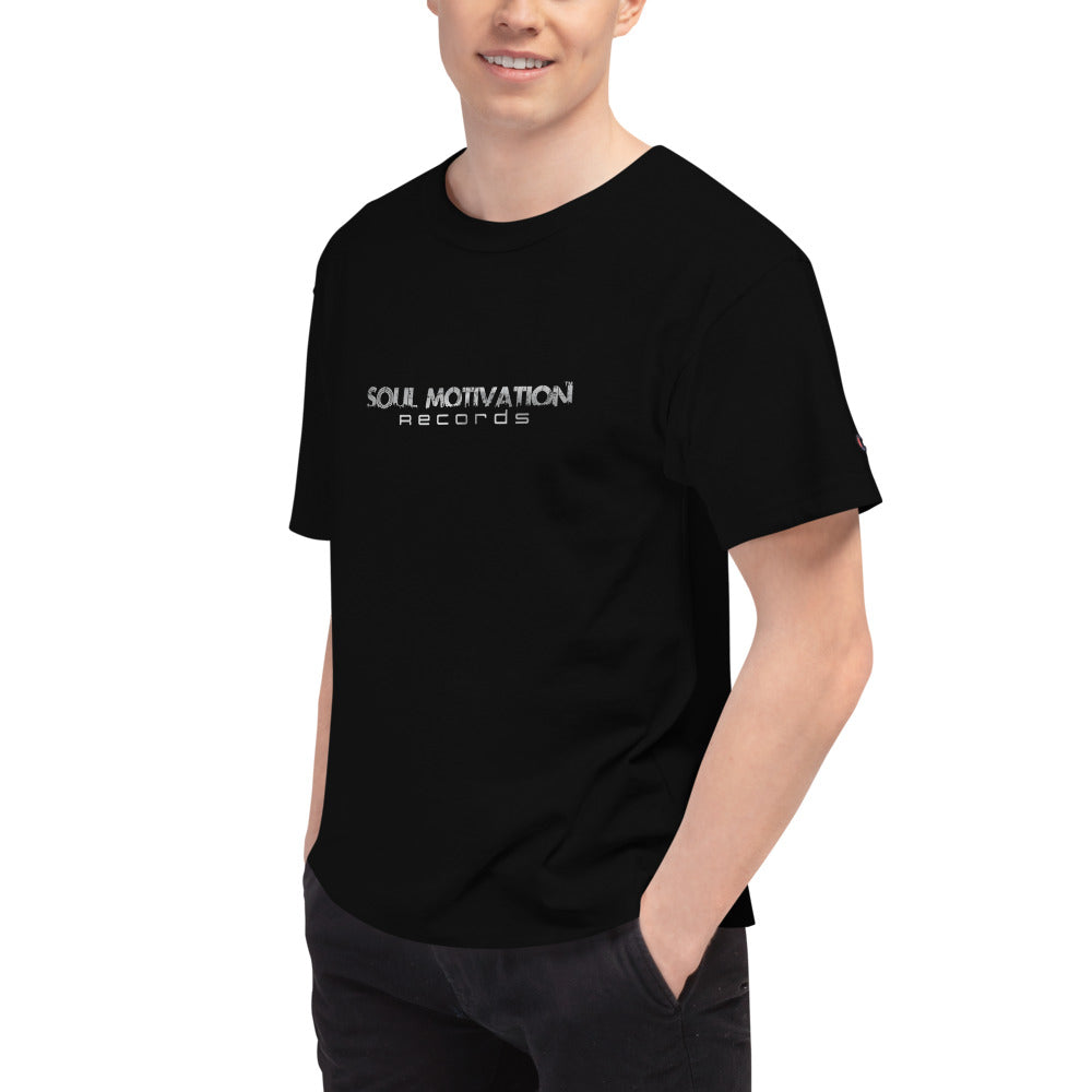 Soul Motivation Records Men's Champion T-Shirt