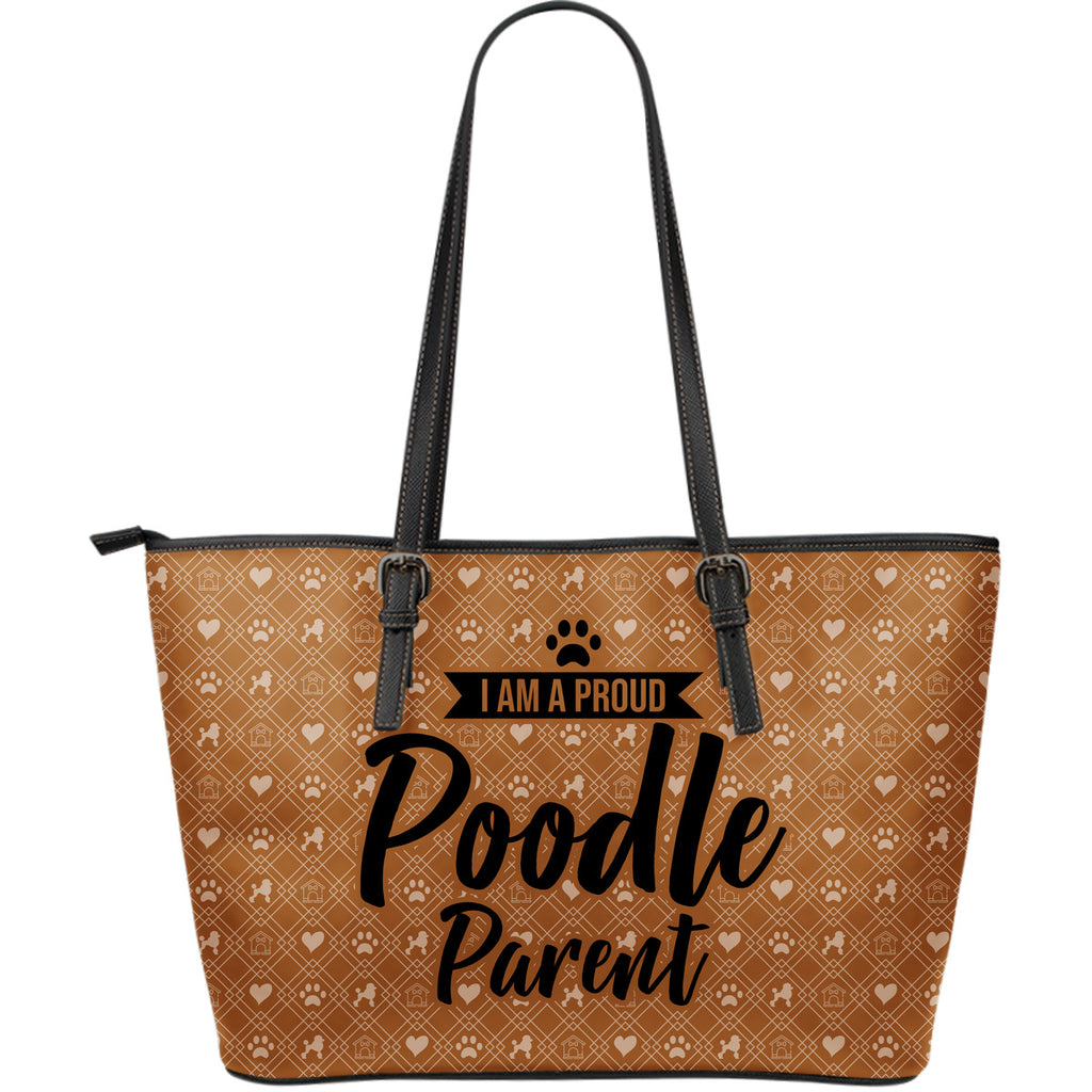 Brown Poodle Parent Tote