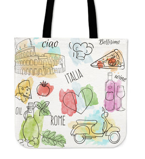A TASTE OF ITALY TOTE BAG