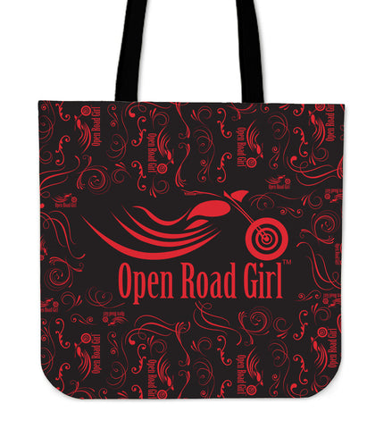 RED Open Road Girl Tote Bag