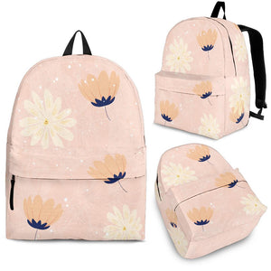 Peach-Flower-03 Backpack