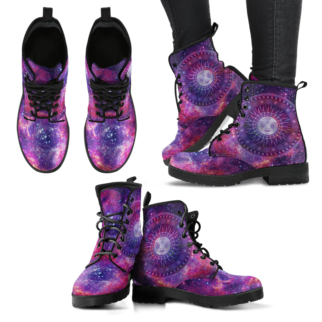 Galaxy Sun Women's Leather Boots