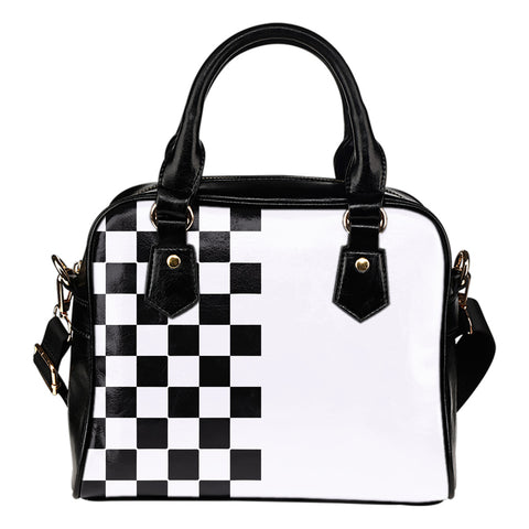 Car-Stripes-Design-02 Shoulder Handbag
