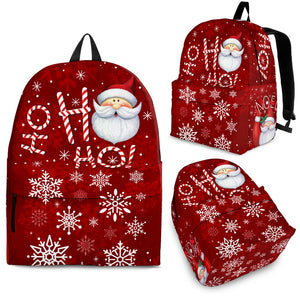 HO HO HO CHRISTMAS BACKPACK