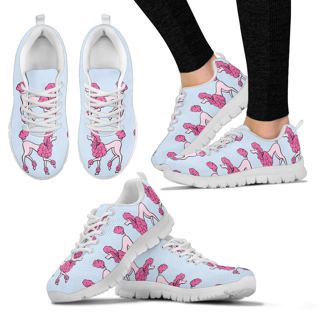 Poodle Lover Women's Sneakers
