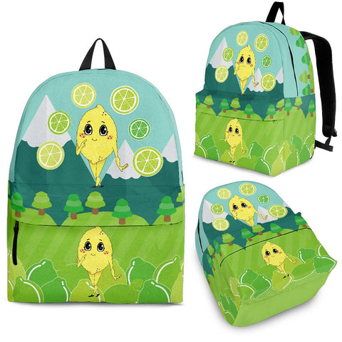 Lemon-World-01 Backpack