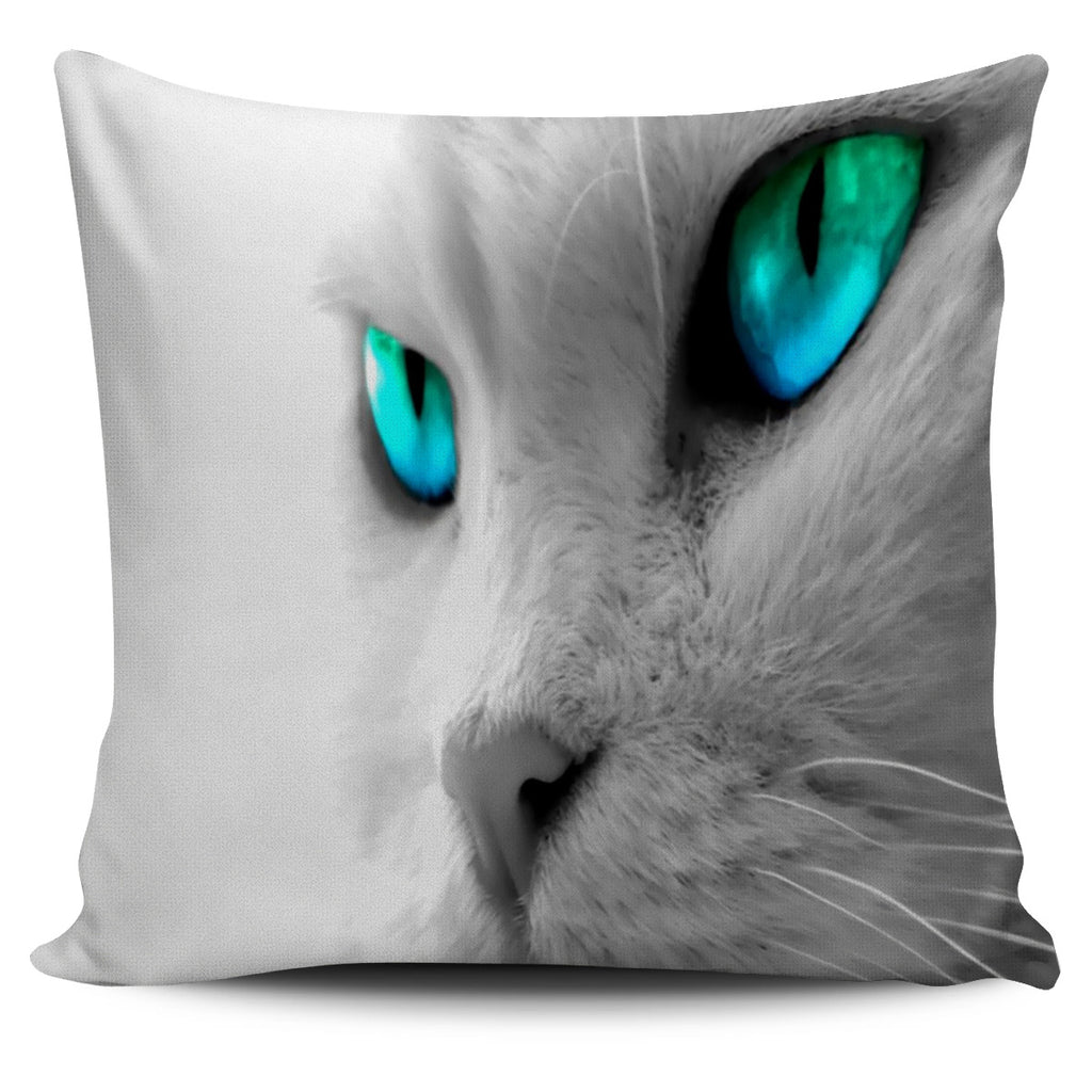 Cats Eyes Pillow Cover