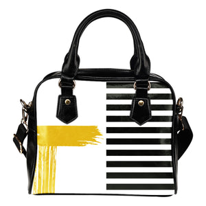 Stripes-Design-03 Shoulder Handbag