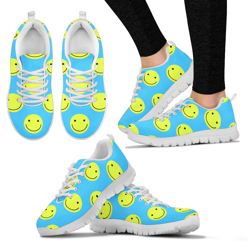 Women's Sneakers with happy face