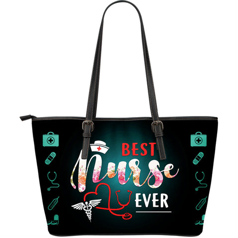 BEST NURSE EVER LARGE TOTE