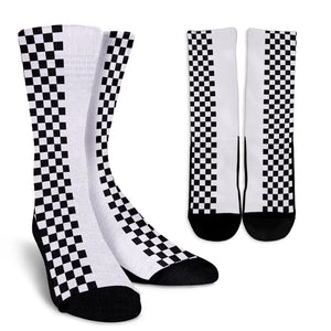 Car-Stripes-Design-02 Crew Socks
