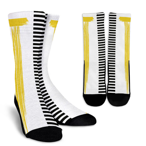Stripes-Design-03 Crew Socks