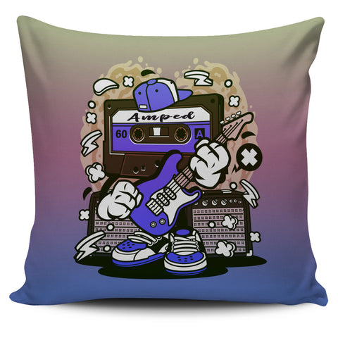 Amped Guitar Pillow Covers for Musicians and Music Freaks