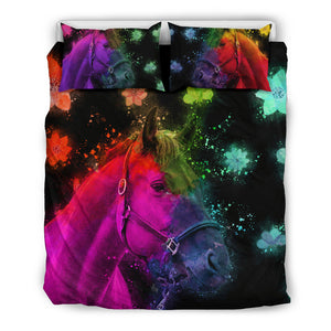 Beautiful Horse Bedding Set for Lovers of Horses