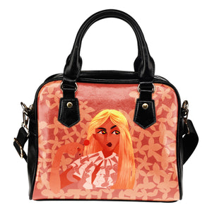 Sweet-Blonde-01 Shoulder Handbag