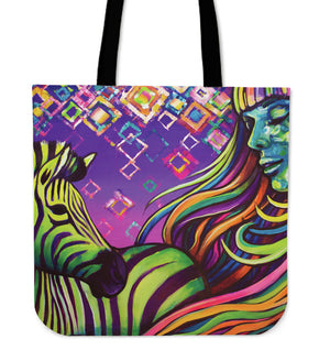 The Zebra - Cloth Tote Bag