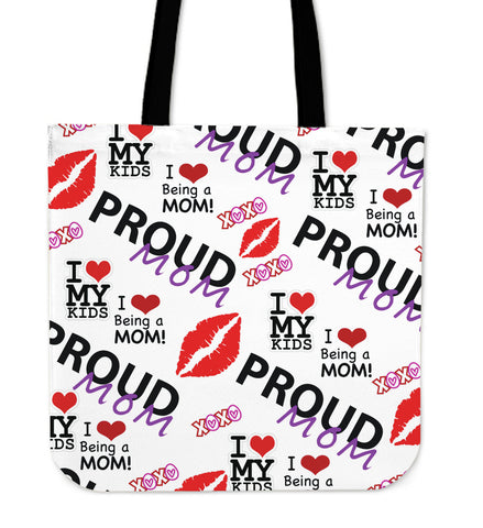 Proud Mom Tote Bag