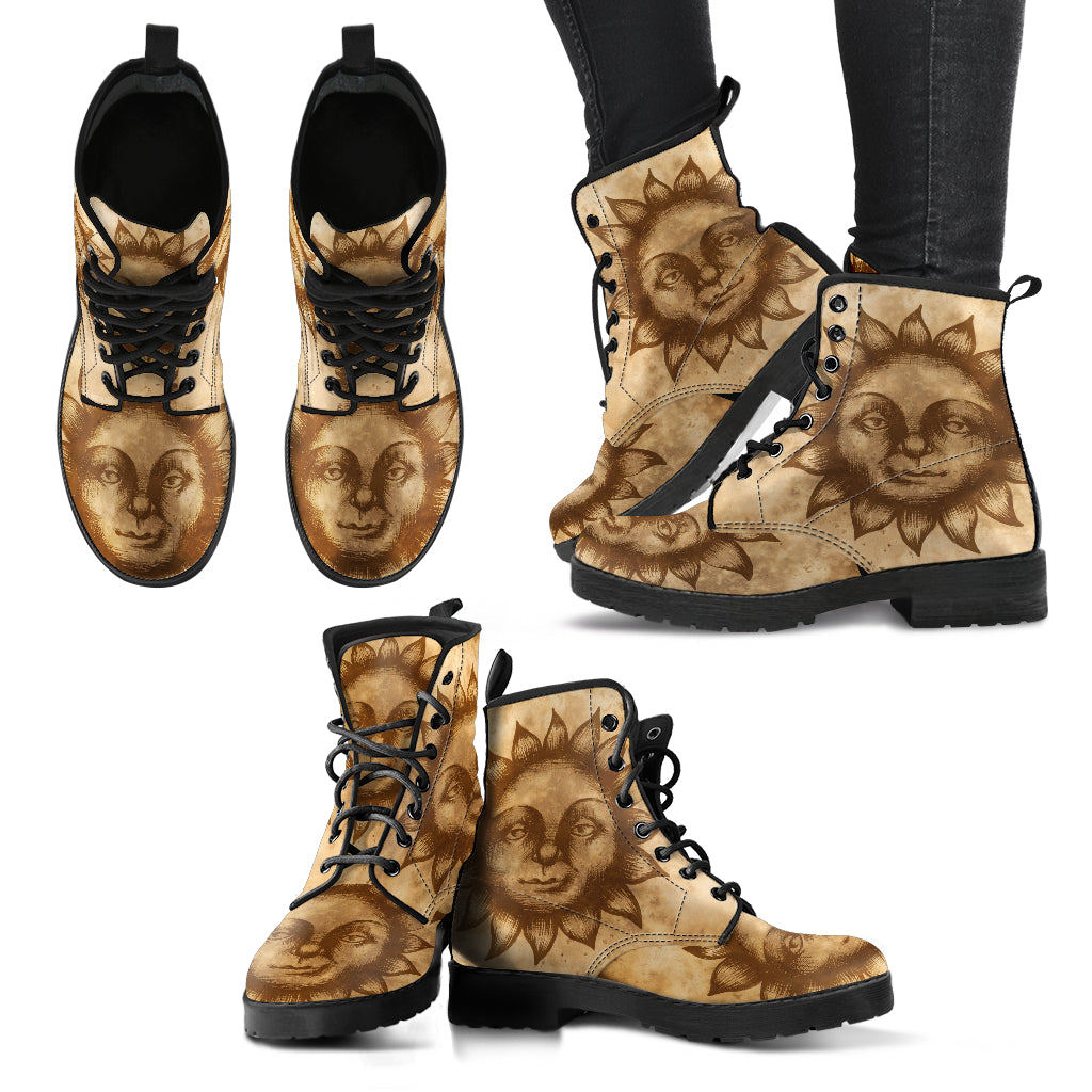 Medieval Sun Women's Leather Boots