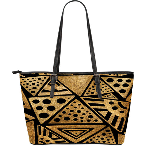 Africa Large Leather Tote