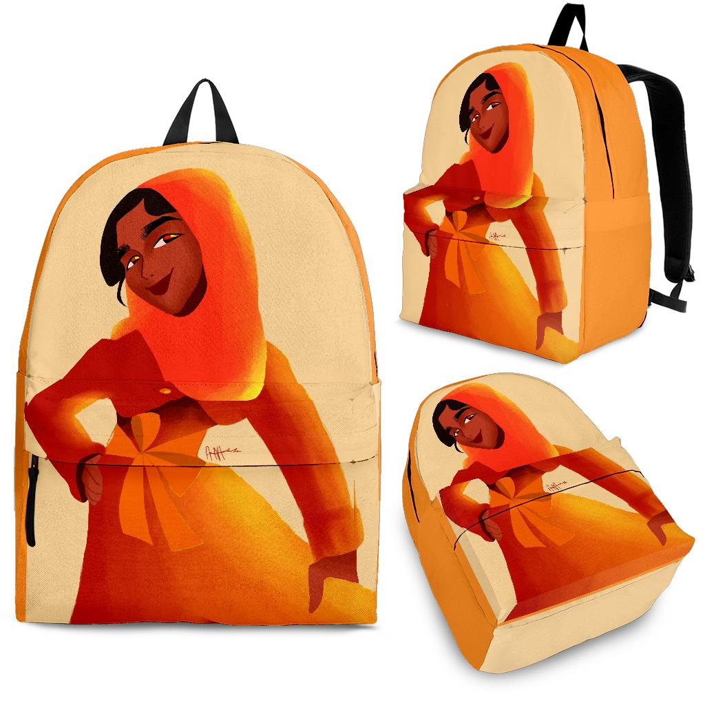 Orange-Girl-01 Backpack