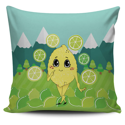 Lemon-World-01 Pillow Cover