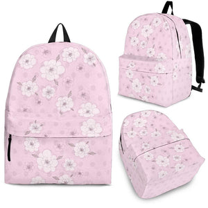Pink-Flower-02 Backpack