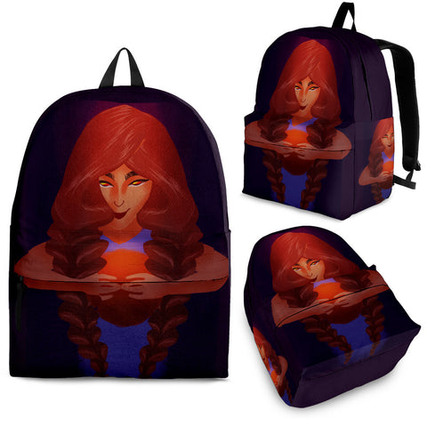 Basketball-Girl-01 Backpack