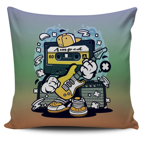 Amped Guitar Pillow Covers for Musicians and Music Freaks 3