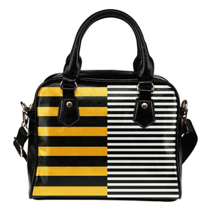 Stripes-Design-01 Shoulder Handbag