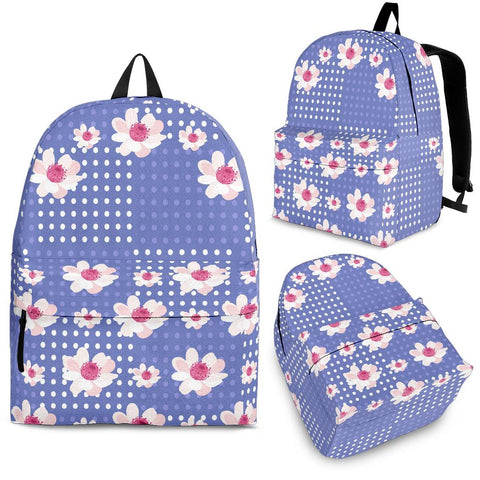 Purple-Flower-01 Backpack