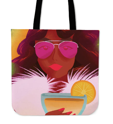 Lemon-Pink-01 Tote Bag