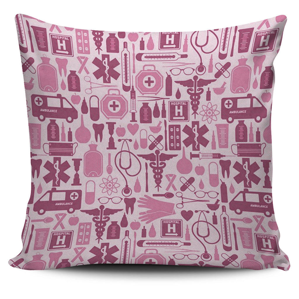 NURSE PINK TOOLS PILLOW NURSES NURSING