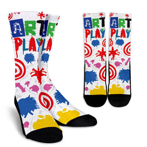 Art-Play-Design Crew Socks