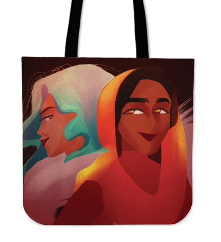 Friends-Girl-01 Tote Bag
