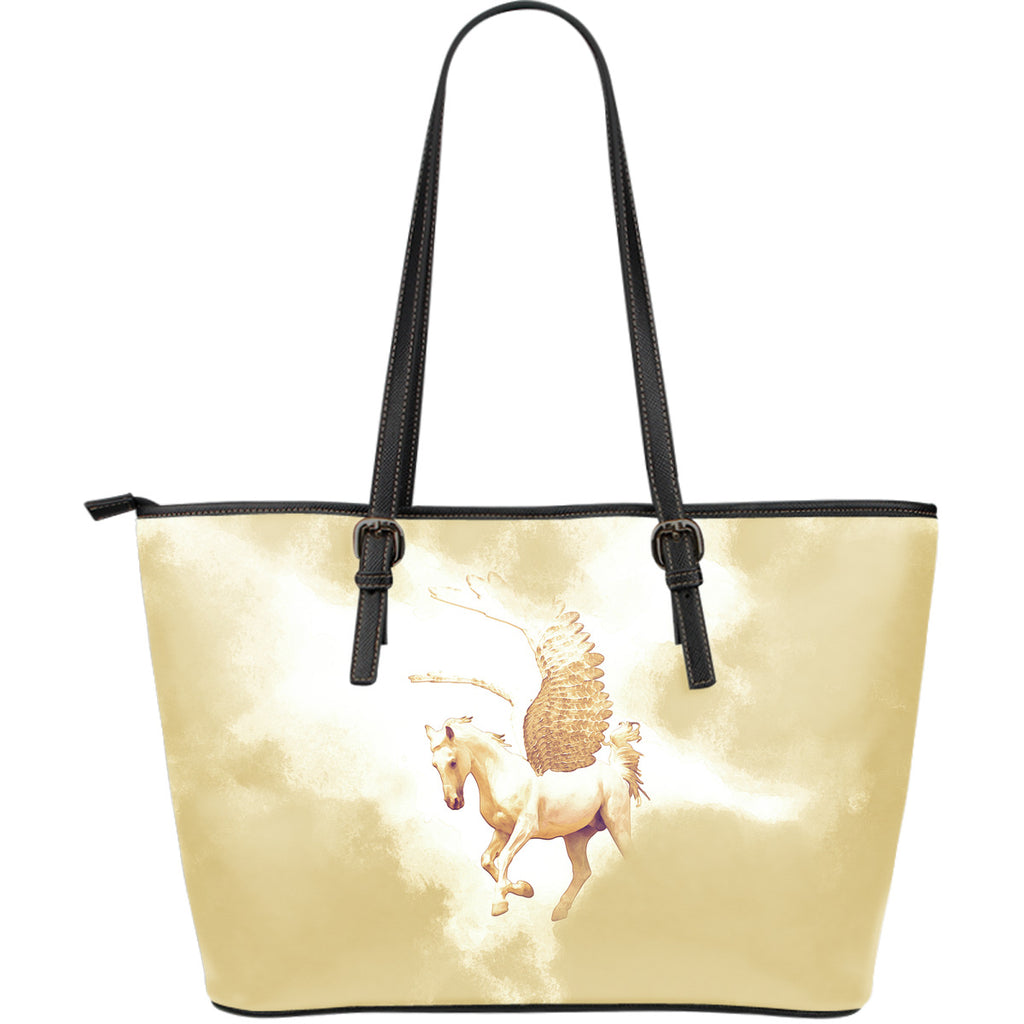 Pegasus (Sunset) Large Leather Tote