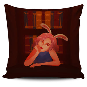 Pillow Covers Library-Bunny-Girl-01