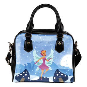 Snow-Fairy-01 Shoulder Handbag