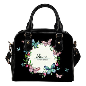 Colorful Flowers  Shoulder Handbag