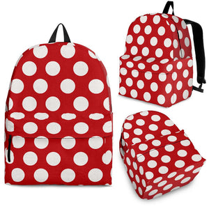 Polka-Dots-Design Backpack