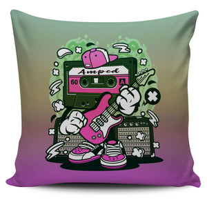 Amped Guitar Pillow Covers for Musicians and Music Freaks 4