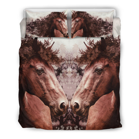 LOVE HORSE - HORSE FAN BEDDING SET