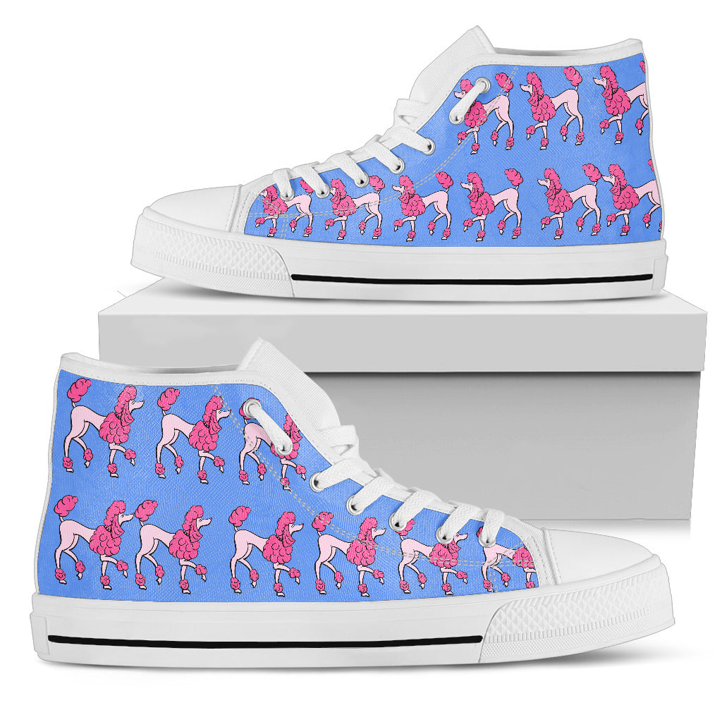 High Top Shoe for Poodle lover Women's