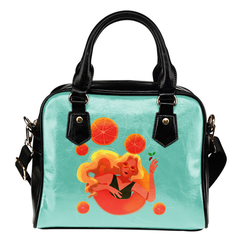 Blonde-Swim-01 Shoulder Handbag