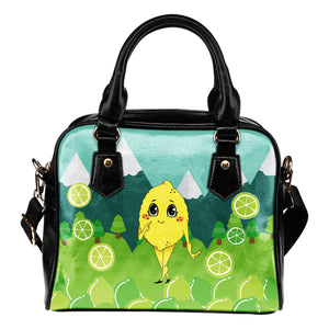 Lemon-World-01 Shoulder Handbag