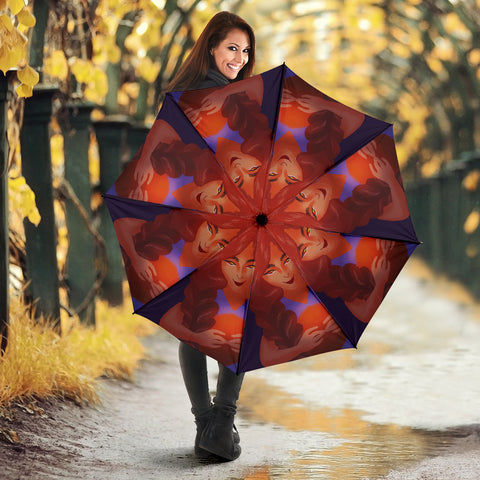 Basketball-Girl-01 Umbrella