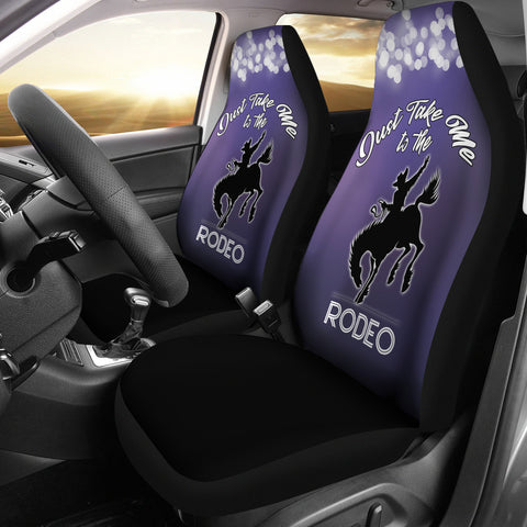 Take Me To The Rodeo Car Seat Covers