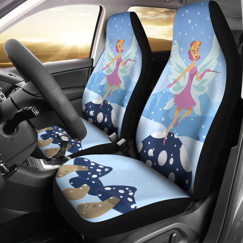 Snow-Fairy-01 Car Seat Covers